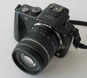 Panasonic Lumix G3 mit Objektiv 14-42mm
