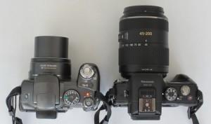Vergleich Canon S3 - Lumix G3 mit Objektiv 45-200mm