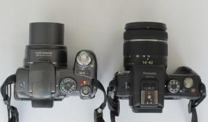 Vergleich Canon S3 - Lumix G3 mit Objektiv 14-42mm