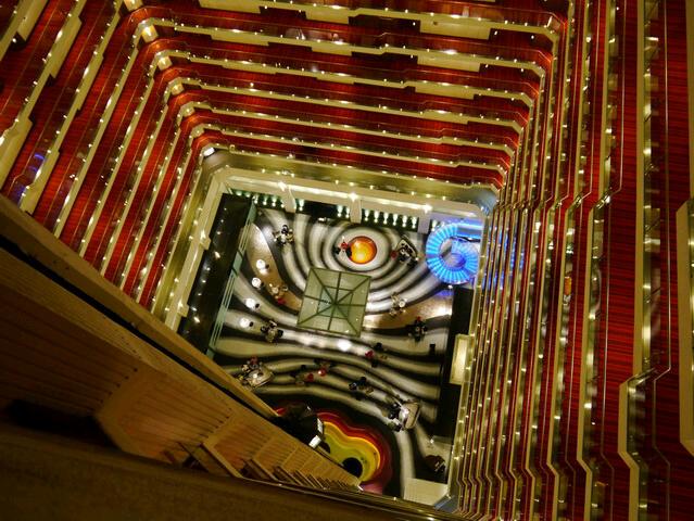 Delhi Hotel Le Meridian - Innenhof