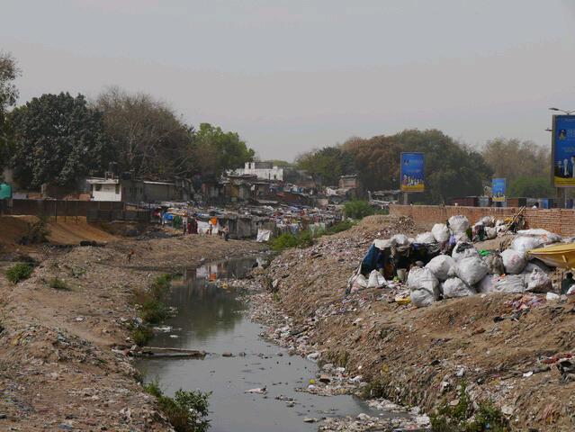 Delhi - Slumgebiet