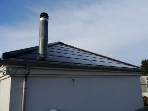Solardach nach Osten