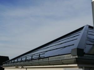 Solardach nach Süden