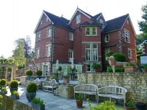 Tasburgh House vom Garten