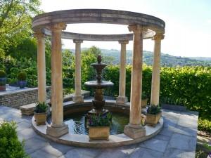 Tasburgh House Garten und Ausblick
