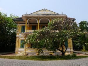 alte französische Villa