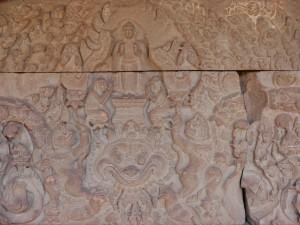 Phnom Penh: Nationalmuseum Sandstein 10.Jhr