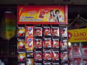 Banlung: Markt
