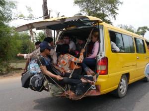 Kampong Thom - Siem Reap: Unterwegs
