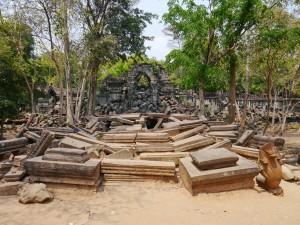 Beng Mealea bei Siem Reap Eingang