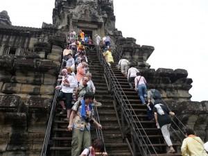 Angkor Wat: Touristen