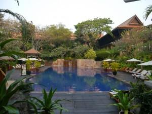 Siem Reap: Hotel Vicotira Angkor