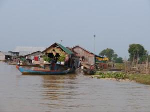 Tonle Sap: schwimmendes Fischerdorf