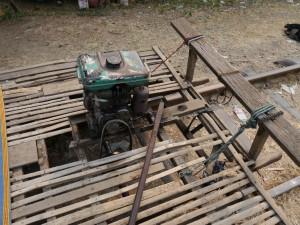 Battambang: Bamboo Train, Antrieb