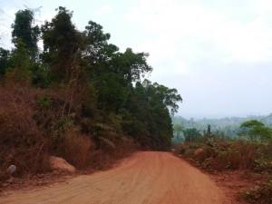 Battambang - Koh Kong: Unterwegs