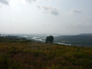 Battambang - Koh Kong: Unterwegs - Blick auf das Meer