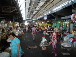 Sihanouk Ville: Lokaler Markt