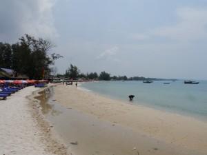 Sihanouk Ville: Strand