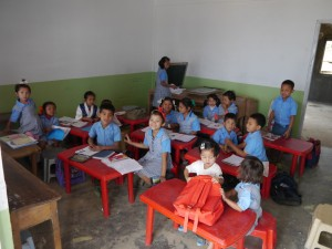 Glenburn: Schule, Schulklasse