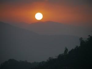 Glenburn: Sonnenaufgang