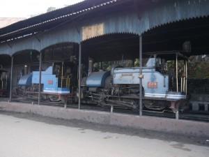 DHR: Darjeeling Lokschuppen