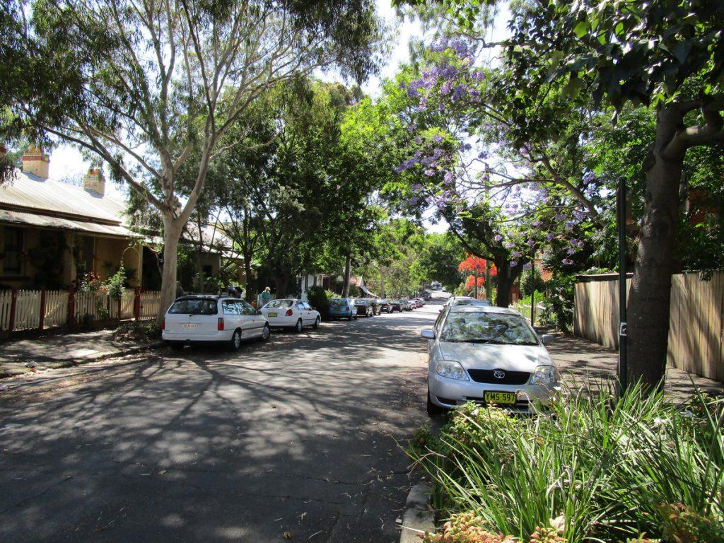 Sydney - Gebiet Glebe