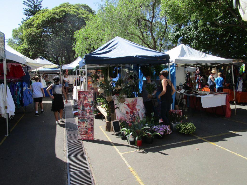 Sydney - Markt Glebe