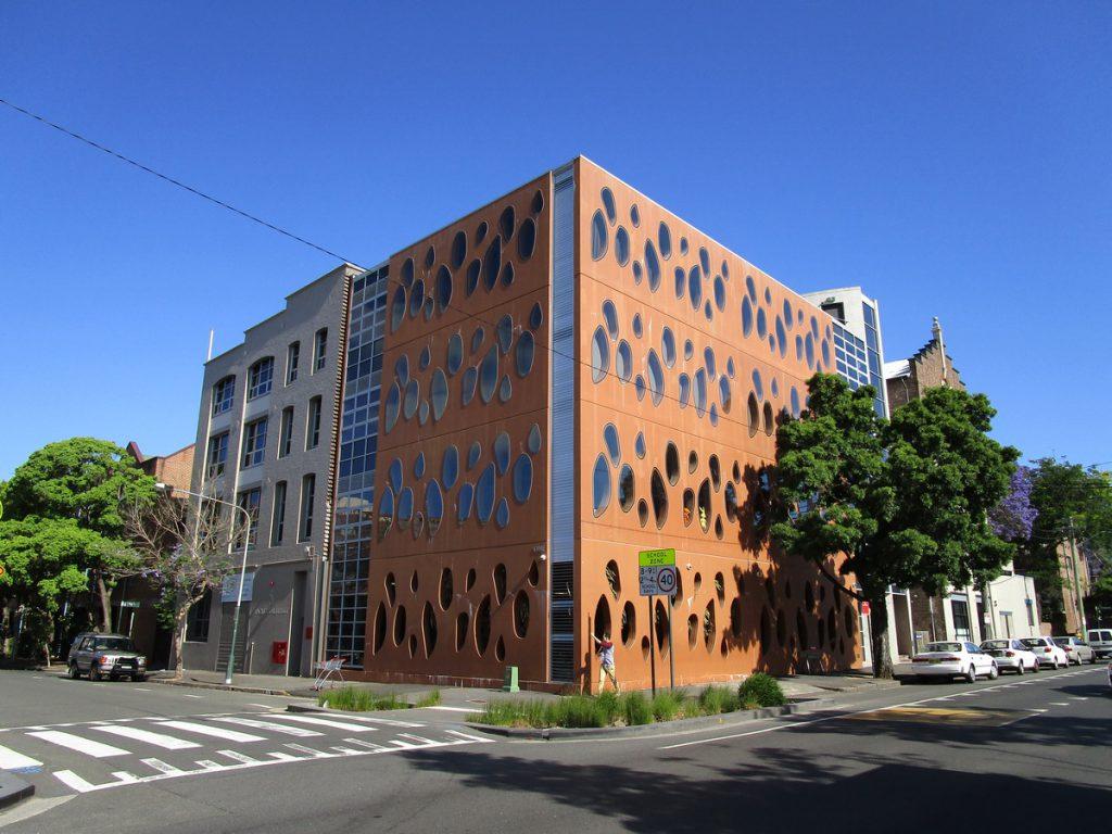 Sydney - spannendes Gebäude