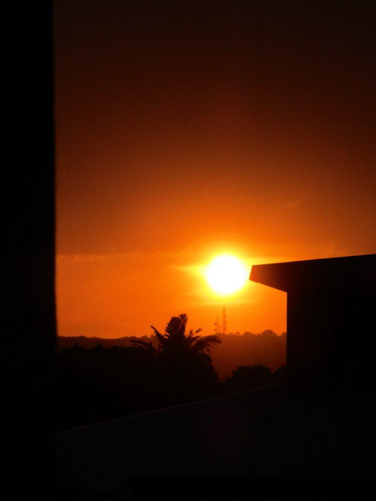 Newcastle Sonnenuntergang