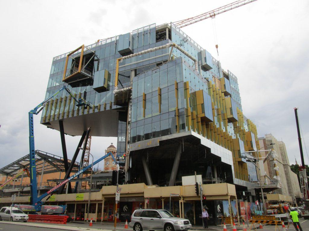 Newcastle - moderne Architektur