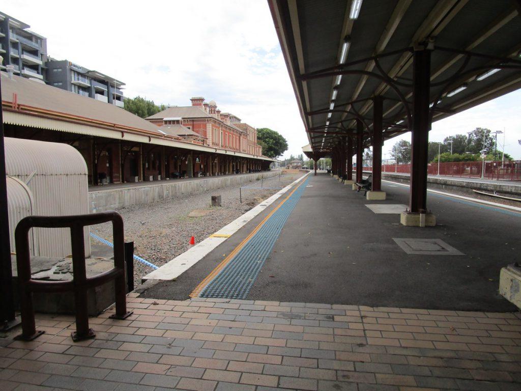 Newcastle - stillgelegter Hauptbahnhof