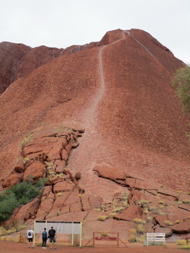 Uluru Aufstiegsroute