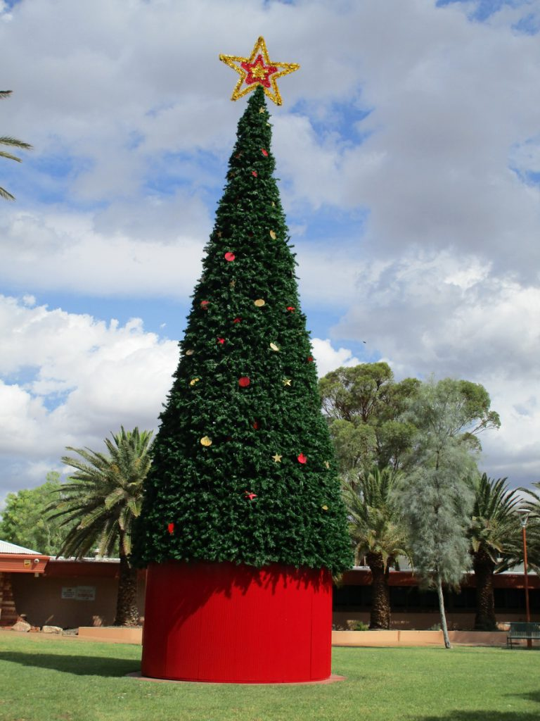 Alice Springs - Weihnachtsbaum