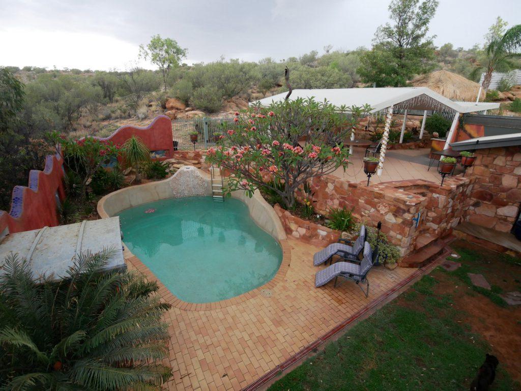 "Alice Springs - unsere Unterkunft ""Wilmot on Dixon"""