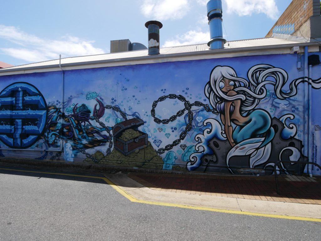 Gleneld Wandmalerei