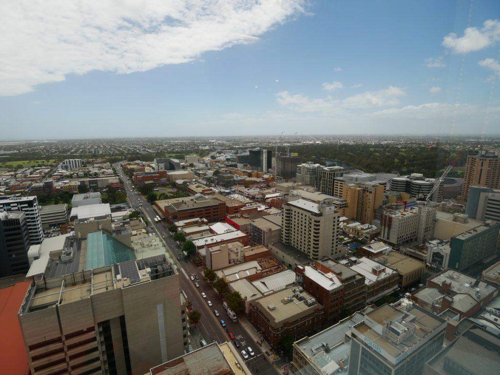 Adelaide Blick aus der Höhe
