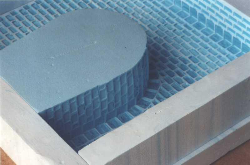 Herstellung eines tunnelportals aus beton - Billardtisch aus beton oeffentlichen bereich ...